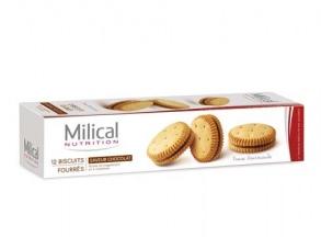 Les Aides Minceur Biscuits Fourrés Chocolat Protéinés 220 g