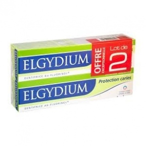 Elgydium Protection caries Lot de 2x75ml