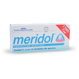 Dentifrice Méridol Protection Gencives - 2 X 75ml
