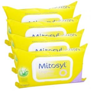 Mitosyl Lingettes - lot de 4 x 72 lingettes