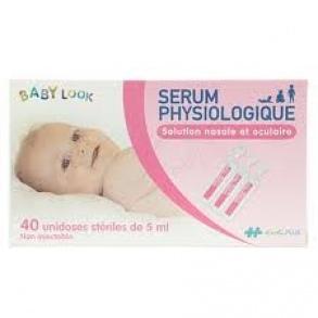 Sérum Physiologique - 40 unidoses de 5 ml