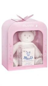 Coffret Musti - Eau de toilette + peluche rose