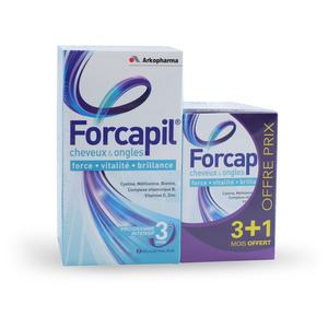 Forcapil Cheveux et ongles - 180+60 gélules