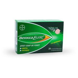 BeroccaBoost compléments alimentaires - 20 comprimés effervescents