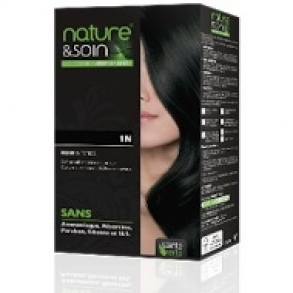 Soin Des Cheveux Nature & Soin - Colorations permanentes 1N Noir Intense