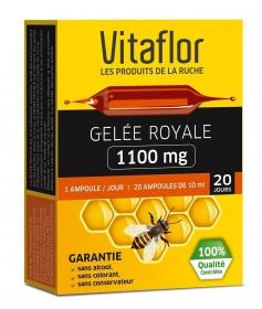 20 ampoules Gelée Royale 1100 mg